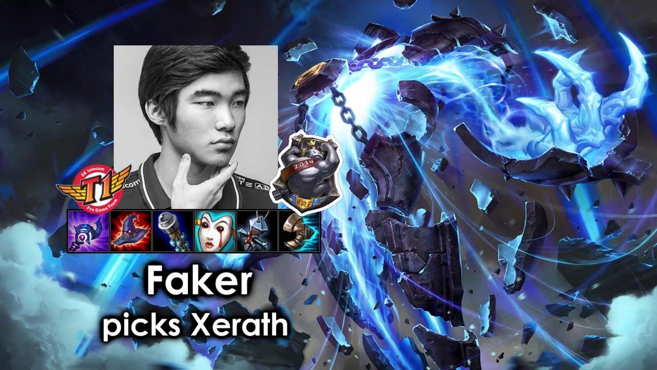 Download Faker picks Xerath (URF)