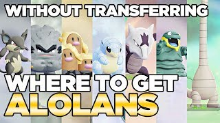 How to Get Alolan Pokemon WITHOUT Transferring in Let's Go Pikachu & Eevee