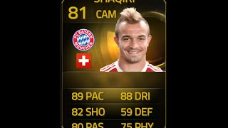 FIFA 15 IF SHAQIRI 81 Player Review & In Game Stats Ultimate Team