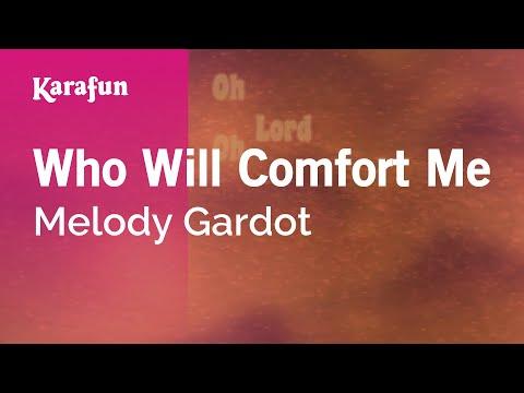 Karaoke Who Will Comfort Me - Melody Gardot