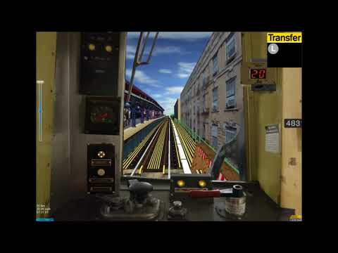 OpenBVE HD: Operating NYC Subway R42 M Train (Metropolitan Avenue to Forest Hills-71st Avenue)