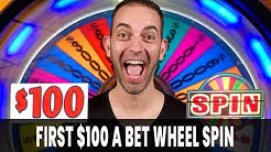 🎡 My First $100/Spin JACKPOT on Wheel of Fortune 🍀 Woah Nelly!