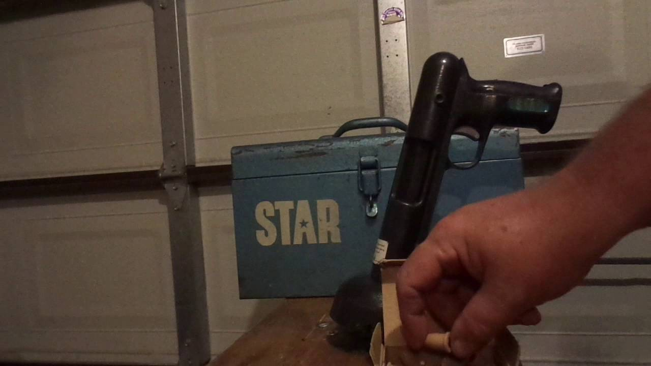 Bell System Powder Actuated Tool Made By Star Expansion Bolt Co