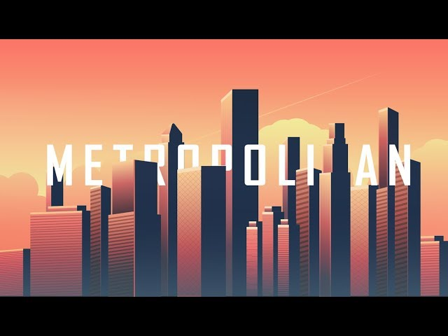Metropolitan City Skyline | Adobe Illustrator/Photoshop | Graphic Design