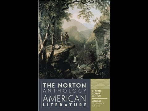 Anthology of American Literature Volume I 10th Edition