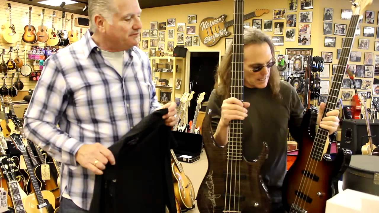 Timothy B  Schmit at Norman's Rare Guitars