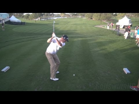 GOLF SWING 2013 - MARC LEISHMAN IRON DRIVE - ELEVATED DTL REG & SLOW MOTION - 1080p HD