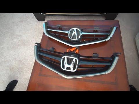 JDM TSX Honda Grille Fail!