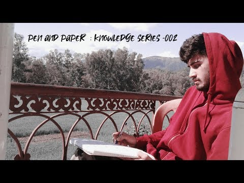 PEN AND PAPER : KNOWLEDGE SERIES EP-002