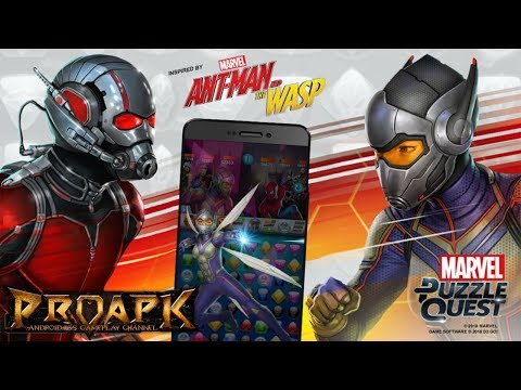 Marvel Puzzle Quest Gameplay Android / IOS
