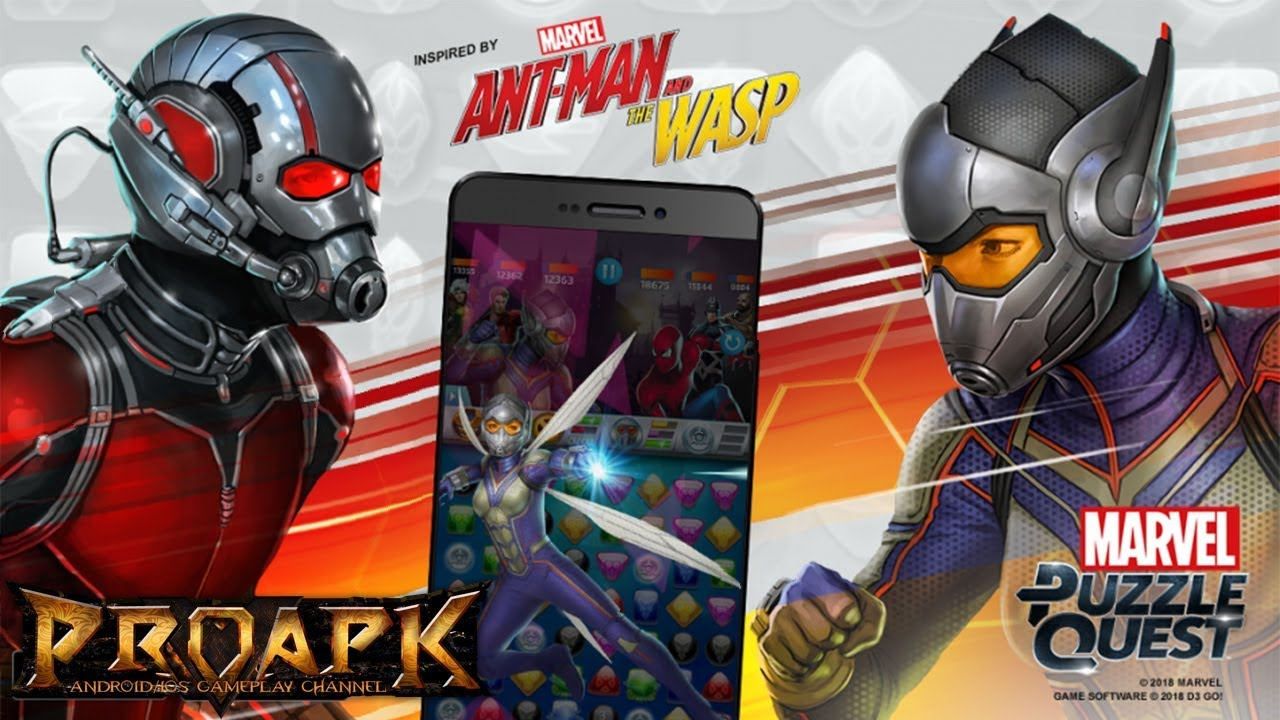 Marvel Puzzle Quest Gameplay Android / iOS - PROAPK