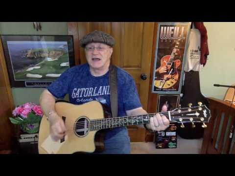 2196 -  The Hobo Song -  John Prine cover -  Vocals & acoustic guitar & chords