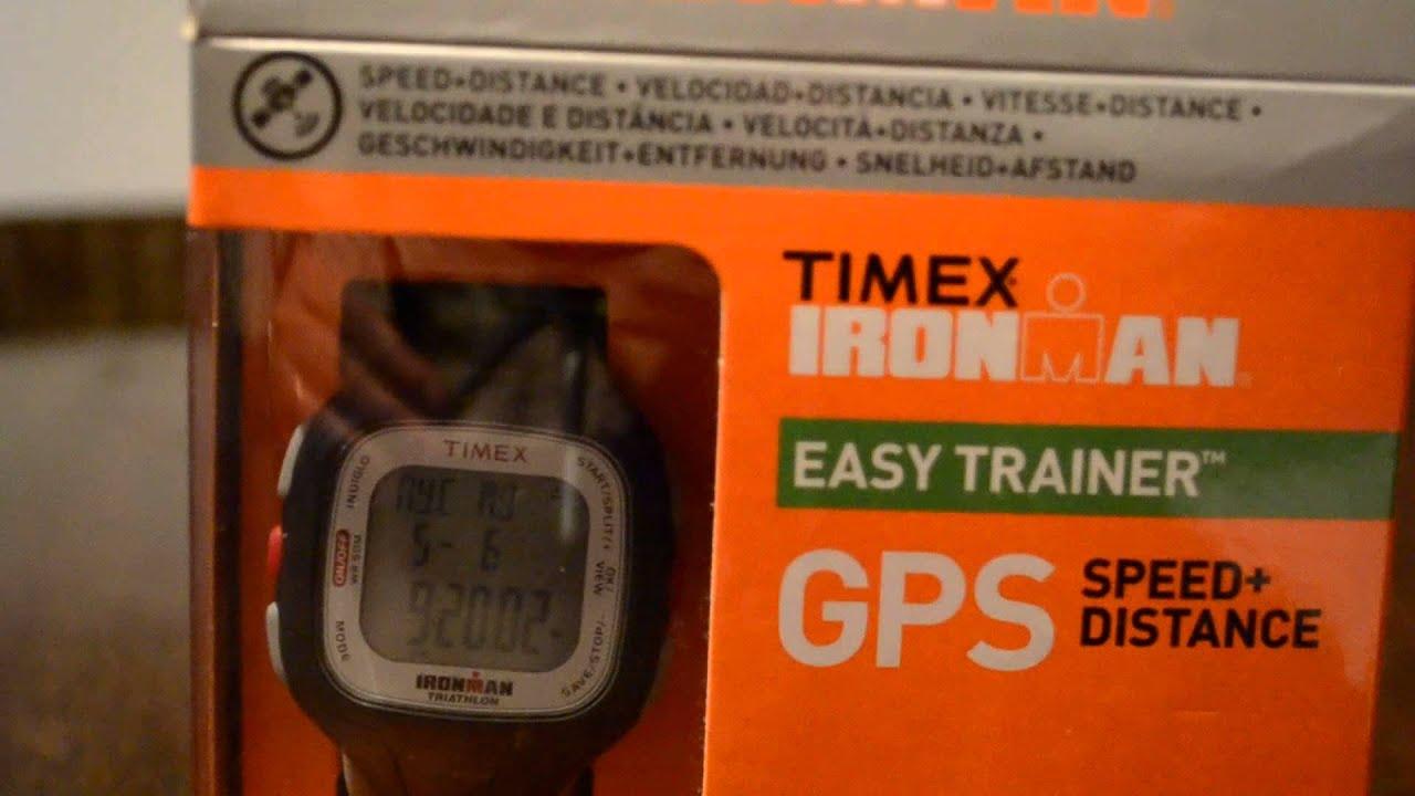5d470cd6271f REVIEW TIMEX ARGENTINA RELOJ TIMEX IRONMAN EASY TRAINER RELOJ CON GPS EN  ESPAÑOL UNIVERSOGYM