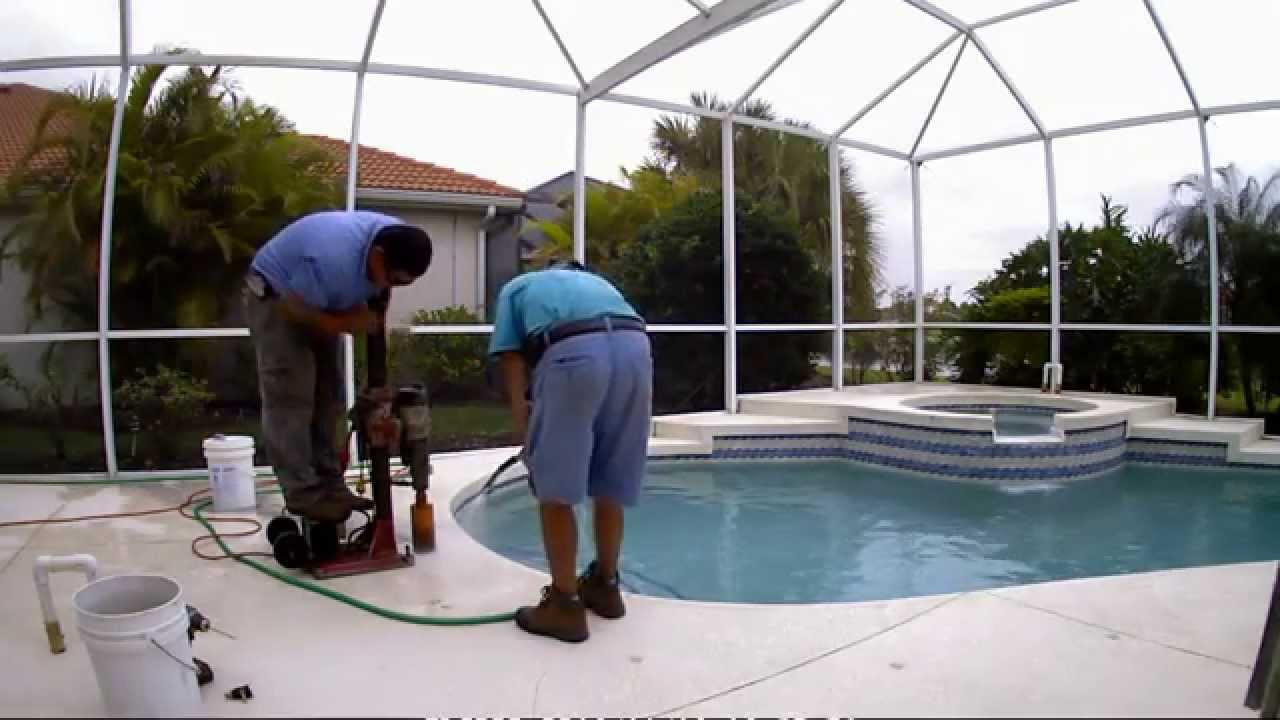 Superior Pools Video On How To Install A Swimming Pool Spa Handrails Youtube