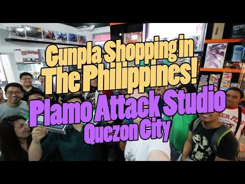 811 - Gunpla Shopping in the Philippines: Plamo Attack Studio (Quezon City)