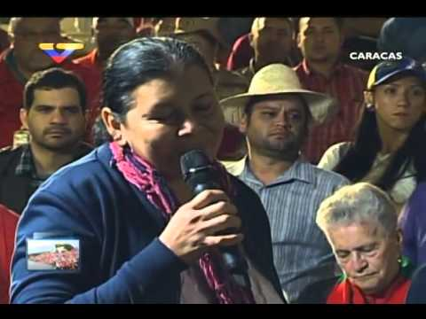 En Contacto con Maduro #51, parte 8/17, Consejo Presidencial de Campesinos, habla Mayre Castillo