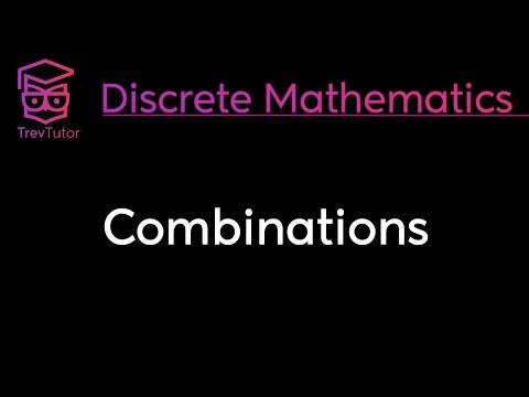 [Discrete Math 1] Combinations