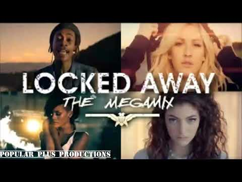 Adam Levine - Locked Away - Megamix - By T10MO