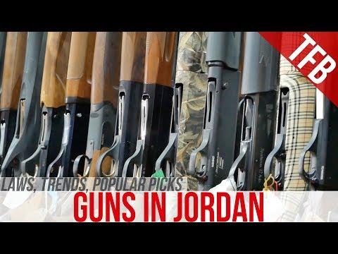 Gunshops and Laws in Jordan