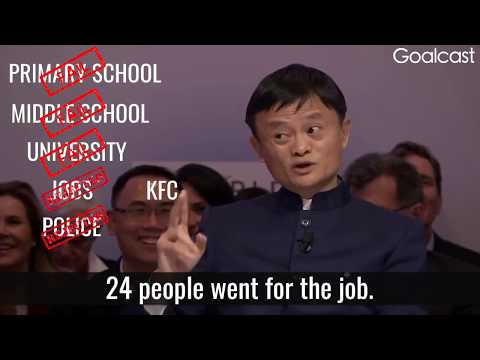 Jack Ma's inspirational interview on how to deal with rejections