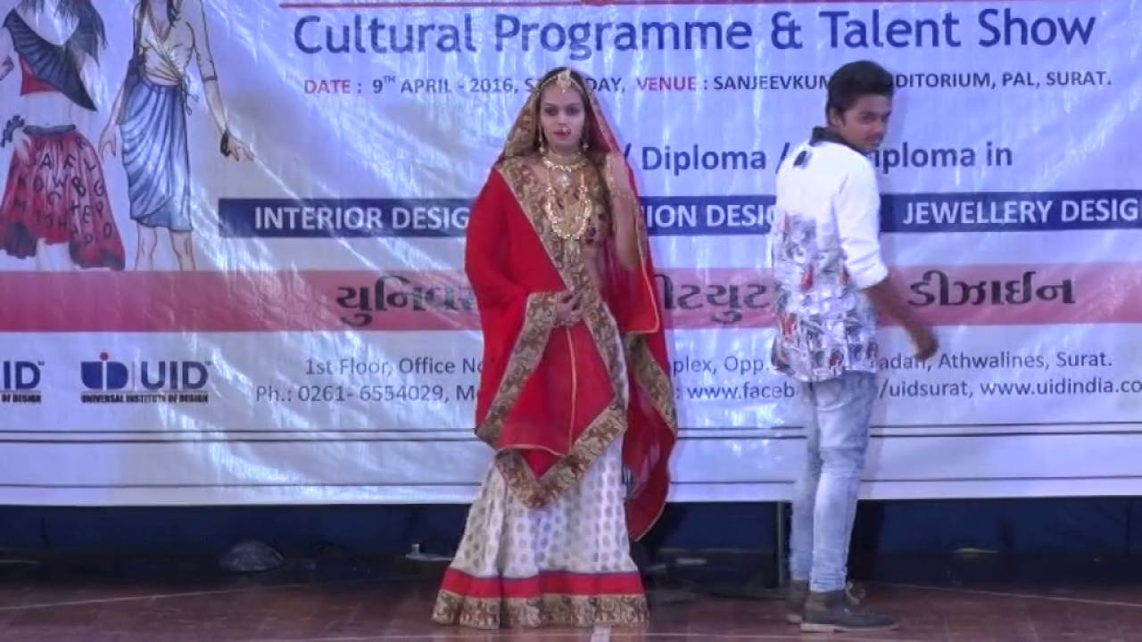 Uid Fashion Show In Abhivyakti 2016 Youtube
