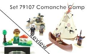 79107 Comanche Camp - Lego Lone Ranger Review (german/deutsch)