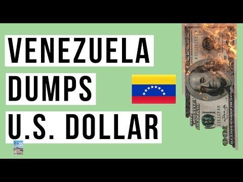 Venezuela DROPS U.S. Dollar For Euro! China's Tech Stocks In MASSIVE SELLOFF!