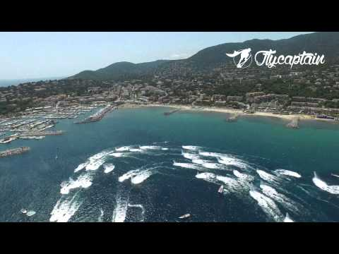 BREITLING FLYBOARD FAMILY IN CAVALAIRE IN 4K FROM THE SKY
