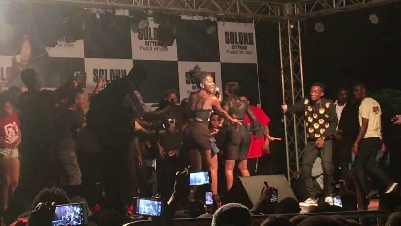 Fela Makafui twerks @ Ebony's album launch Concert