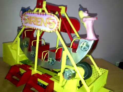 Juego Mecanico Canoa De Sirena Siren S Funnycat Tv