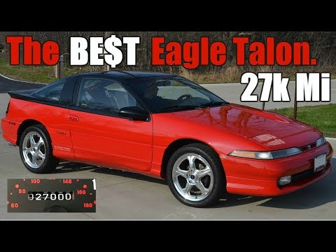 Holy Grail 27k Mile 1990 Eagle Talon TSi AWD Turbo 41st Car