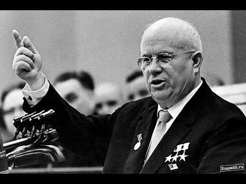 Image result for photo of nikita khrushchev