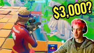 """Ninja will give $3,000 For This 1 Headshot"" (Must See Challenge) ● Fortnite Funny Moments ● Ep.03"