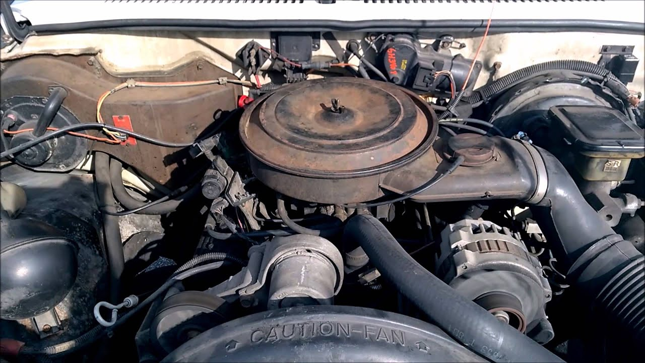 medium resolution of 1990 gmc s15 4 3l idle issues