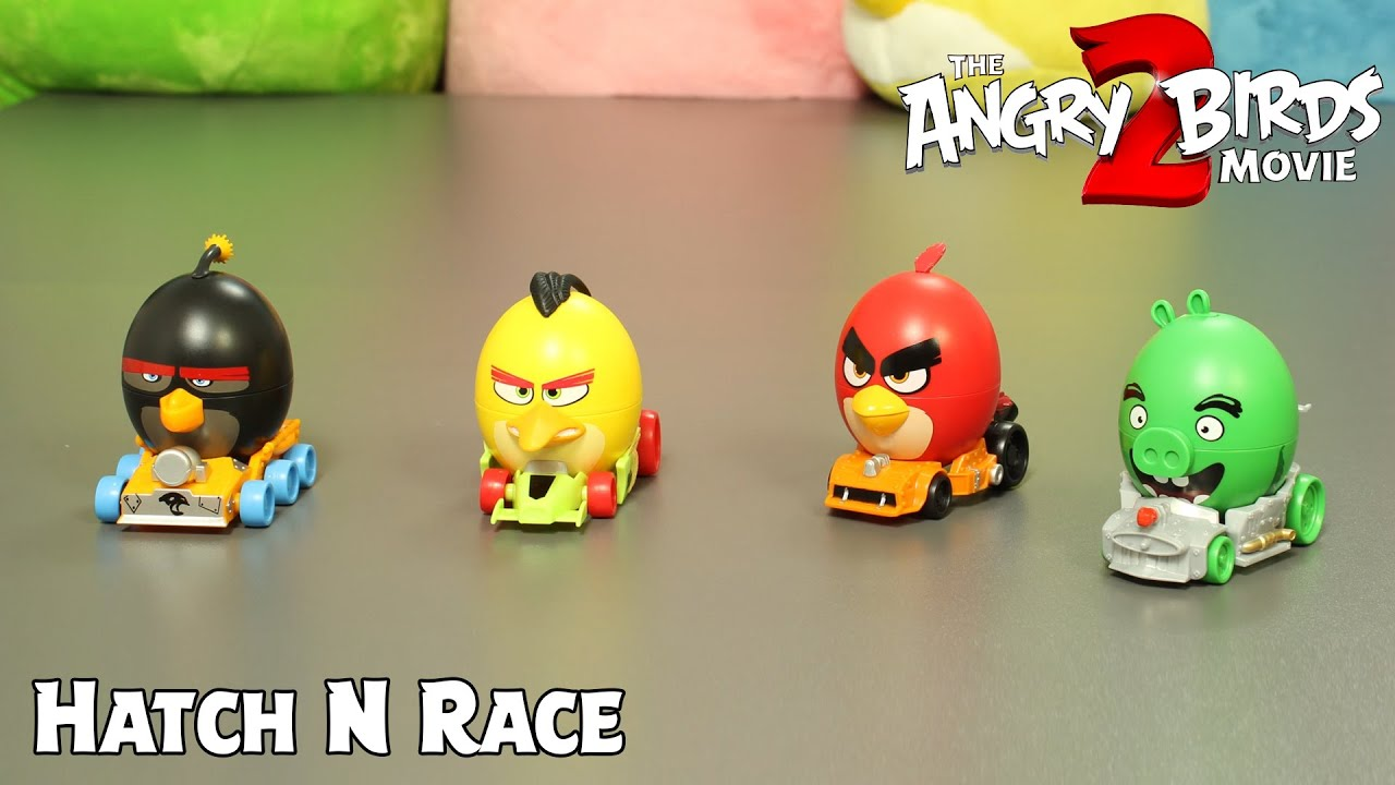 Download Angry Birds Hatch & Race Surprise | The Angry Birds Movie 2 Toys Unboxing