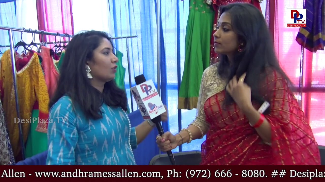 Clothing Vendor  at - America Telugu Convention (ATC, ATA, TATA) - Dallas - Texas
