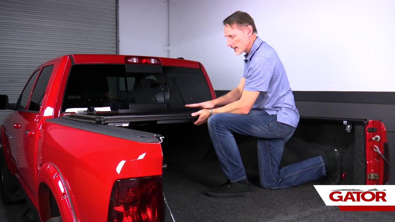 How To Install Gator Evo Tonneau Cover On A Dodge Ram 1500 Youtube
