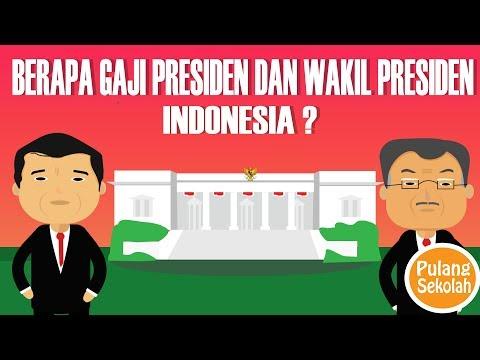 BERAPA GAJI PRESIDEN DAN WAKIL PRESIDEN INDONESIA ?