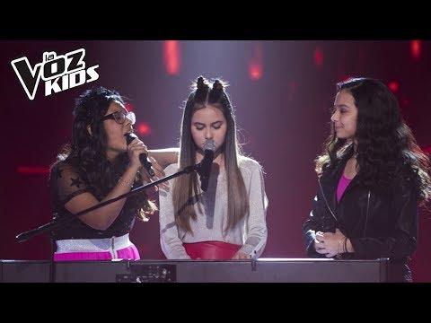 Manu, Mariana y Dani cantan Price Tag - Batallas| La Voz Kids Colombia 2018из YouTube · Длительность: 10 мин13 с