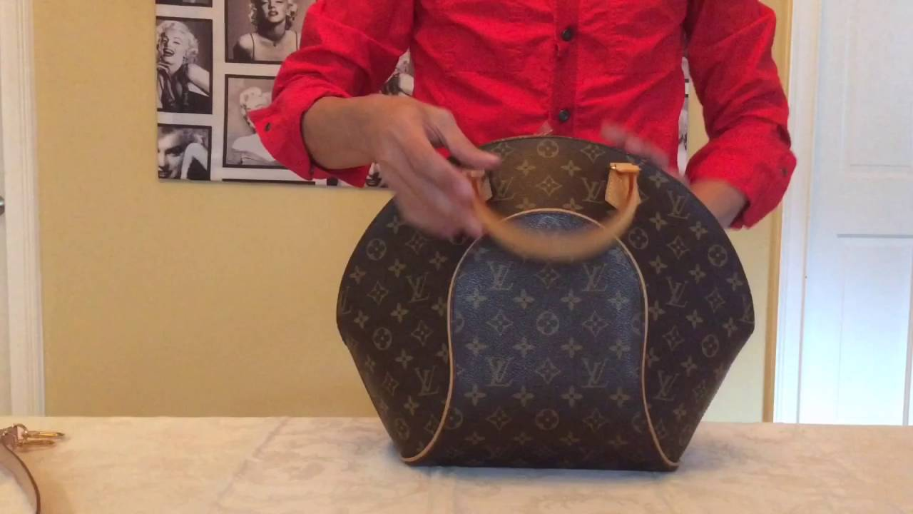 Louis Vuitton Collection Ellipse MM Monogram Canvas - YouTube aac72a88d286c