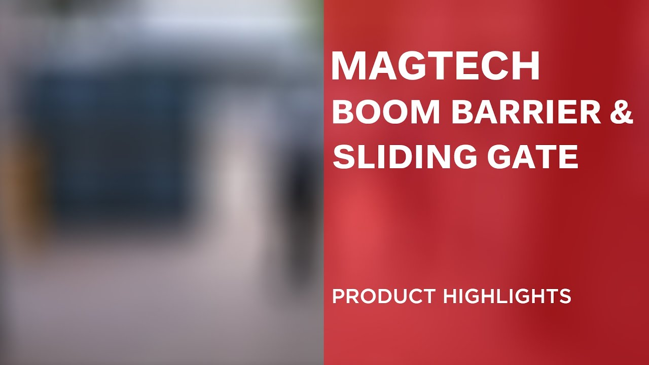 SLIDING GATE & BOOM BARRIER WITH RFID