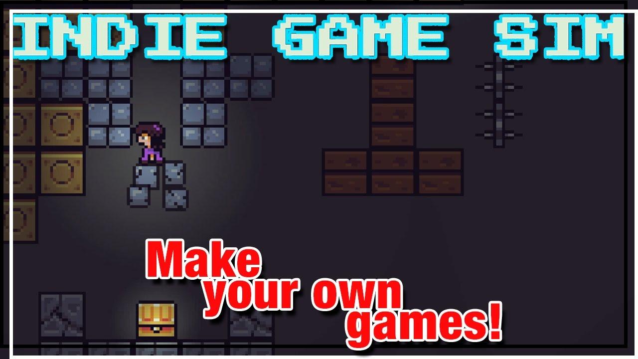 Security camera - Indie Game Sim gameplay ep 8 - Indie Game Sim let's play  (my games in the desc)