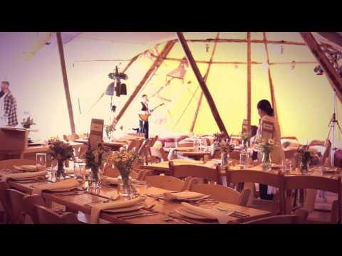 Outdoor Wedding UK - Teepee Wedding York