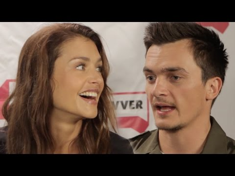 Hitman: Agent 47 Comic-Con 2015 Interview - Rupert Friend, Hannah Ware
