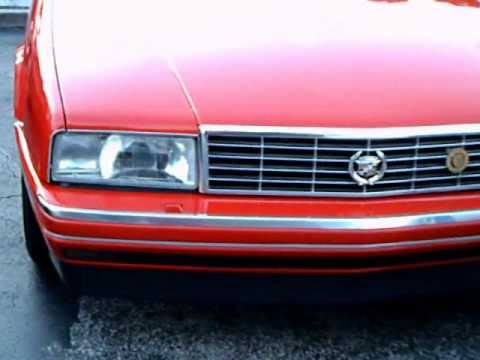 1990 Cadillac Allante Convertible  YouTube