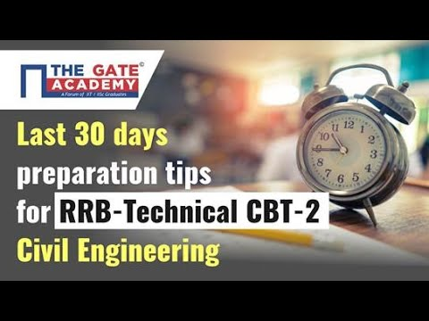 How to Prepare for RRB JE CBT 2 Civil 2019 | Preparation Strategy for RRB JE CBT 2 Technical Civil