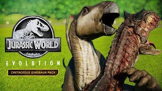 IGUANODON CAN KILL CARNIVORES! | All Skins, Unique Animations (Jurassic World: Evolution Iguanodon)