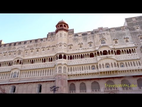 BIKANER - Junagarh Fort - Hotel Sagar