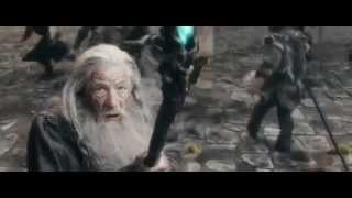 The Hobbit The Battle of the Five Armies Alfrid's Death & Gandalf vs Troll Extended Scene