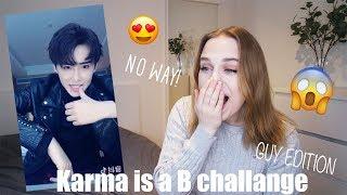 Karma is a B*tch Challenge reaction | Guy version 😱🔥